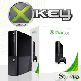 xbox 360 slim stingray 4go xkey x360key v3. Black Bedroom Furniture Sets. Home Design Ideas