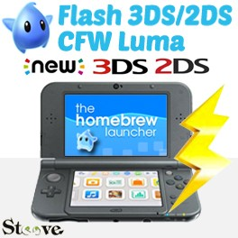 Flash 3DS/2DS/New CFW Luma