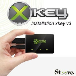 Installation Xkey x360key v3