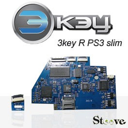 3key R PS3 slim