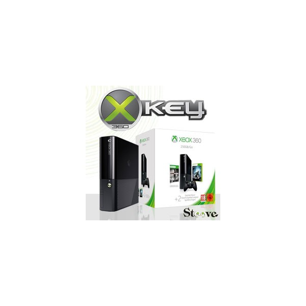 xbox 360 slim stingray 250go xkey v3. Black Bedroom Furniture Sets. Home Design Ideas